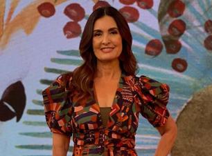 Fátima Bernardes revela dica fashion em decote de macacão