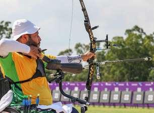 Heriberto Roca é eliminado no tiro com arco nos Jogos Paralímpicos