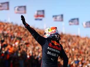 """Mar Laranja"" empurra Verstappen para sua 10ª pole na F1"