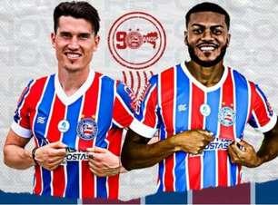 Dose Dupla! Bahia anuncia duas contratações para a sequência da temporada