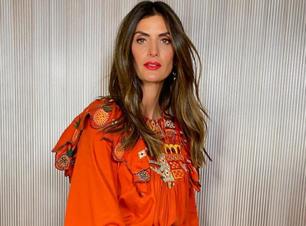 Isabella Fiorentino mostra como usar bata com jeans