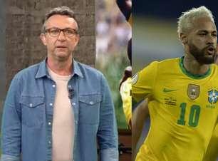 """Neto chuta o balde com Neymar: """"Você se vitimiza toda hora"""""""