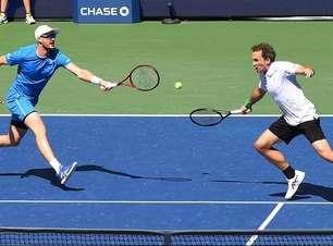 Soares e Murray levam virada e são vice-campeões do US Open