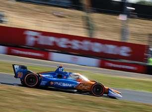 Palou vence corrida 'montanha-russa' em Portland e retoma liderança da Indy 2021