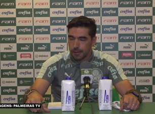 """PALMEIRAS: Abel Ferreira reconhece 'falta de capacidade no último terço' para equipe marcar gols e considera: """"Eles erram menos e conseguiram a vitória"""""""