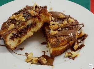 Receita de rabanada recheada de Nutella®