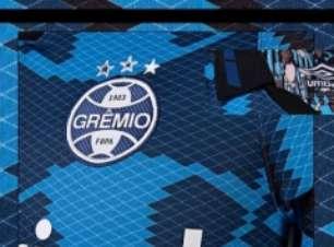 Grêmio lança novo uniforme na véspera do 118° aniversário
