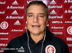 """INTERNACIONAL: Aguirre reconhece má partida da equipe, mas valoriza vitória sobre o Sport: """"Hoje era ganhar ou ganhar"""""""