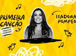 """Isadora Pompeo lançou clipe de """"Primeira Canção"""". Vem ver"""