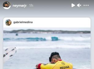 """Neymar parabeniza amigo Medina e Duilio celebra corintiano """"no topo do mundo"""""""