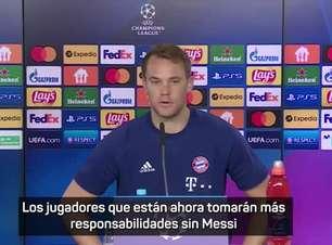 """Neuer: """"Tácticamente, el Barça jugará mejor sin Messi"""""""