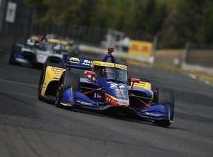 """Rossi critica direção de prova por confusão na largada em Portland: """"Não tinha lugar para ir"""""""