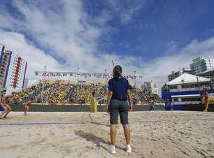 Itapema-SC será sede do Circuito Mundial de vôlei de praia