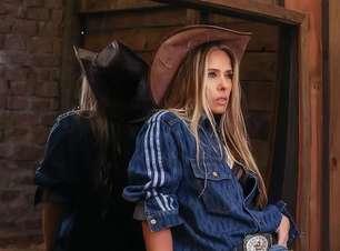 Galisteu estreia 'A Fazenda' com look da grife de Beyoncé