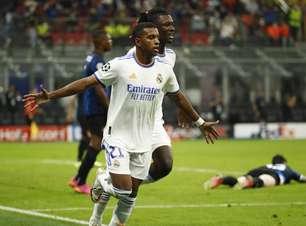 Rodrygo decide e Real Madrid bate a Inter de Milão na Itália