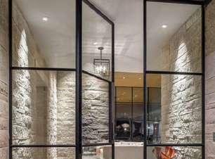 Porta de Vidro Para Sala: +48 Modelos e Como Escolher a Opção Ideal