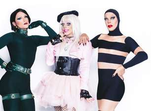 TV: Gretchen, Preta Gil e Maria Rita viram drags em reality