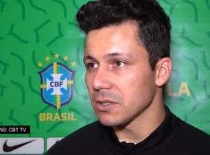 """SELEÇÃO FUTSAL: Goleiro Guitta fala sobre estreia na Copa do Mundo: """"O que vier nós temos que encarar de frente e mostrar nosso futebol brasileiro"""""""