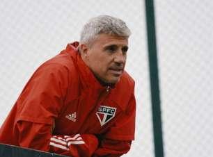 Belmonte rechaça saída de Crespo do São Paulo: 'O trabalho continua'