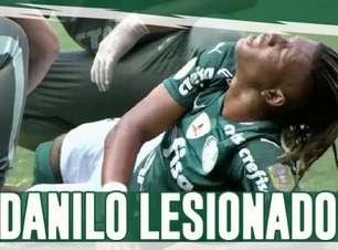 Boletim do NP: Com trauma no tornozelo, Danilo desfalca treino do Palmeiras; Jorge perto de estrear