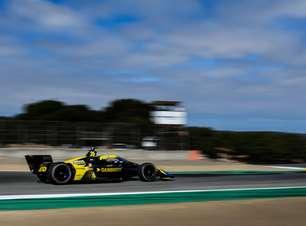 Indy: Herta fatura pole position em Laguna Seca. Palou e O'Ward largam no top-6
