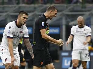 Inter de Milão goleia Bologna por 6 a 1 e assume a liderança