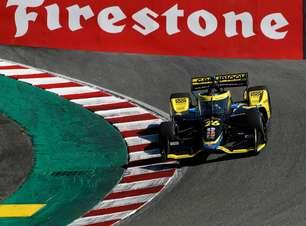Herta bate Rossi e crava pole em 1-2 da Andretti no grid de Laguna Seca. Palou é 4º