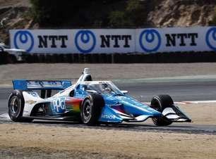 McLaughlin lidera segundo treino para o GP de Laguna Seca da Indy
