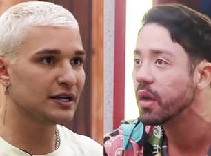 A Fazenda 2021: MC Gui perde a paciência com as patadas de Rico e começa discussão