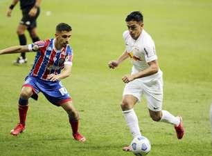 Bahia e Bragantino ficam no empate na Arena Fonte Nova