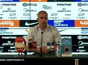 """CORINTHIANS: Sylvinho vê Giuliano 'mais solto' após jogador marcar o gol de empate contra o América-MG: """"Se sente mais à vontade para pisar na área"""""""