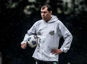 Santos terá sete treinos antes do jogo contra o Juventude