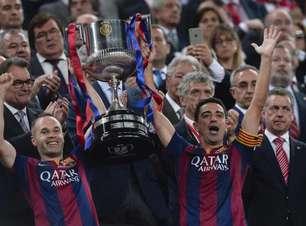 Iniesta faz lobby para Xavi ser novo técnico do Barcelona