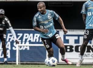 Sánchez e Madson treinam e ficam próximos de retornar ao time do Santos