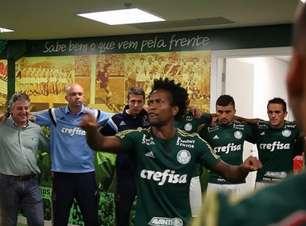 'O Palmeiras é grande!' Seis anos depois, Zé Roberto bate no peito de novo e explica momento do viral