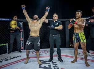 Filipe Moitinho e Jana Popozinha vencem no Thunder Fight 30 em card com bons duelos; veja