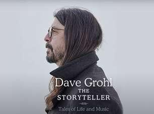 O contador de histórias Dave Grohl fará apresentações ao vivo de sua autobiografia