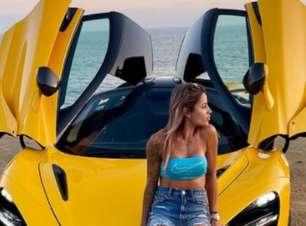 Letícia Bufoni exibe nova McLaren avaliada em R$ 3,7 milhões