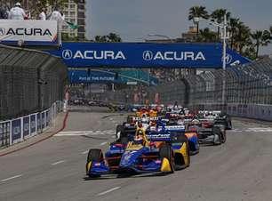 Confira a programação e onde ver na TV ao GP de Long Beach da Indy