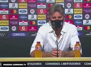 """FLAMENGO: Renato Gaúcho diz que Barcelona soube sofrer com pressão de seu time e reforça após vitória por 2 a 0: """"é uma vantagem muito grande"""""""