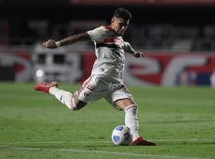 São Paulo teve seu menor número de finalizações no Brasileiro em empate