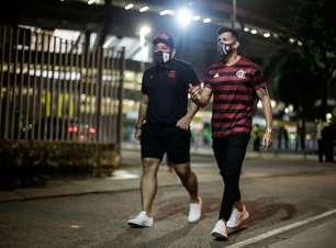 Protocolos impediram entrada de uma centena de infectados com Covid-19 em jogos do Flamengo