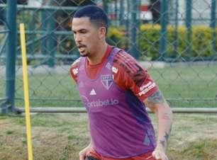 Com Luciano, São Paulo finaliza preparação para jogo contra o Atlético-MG; veja possível escalação