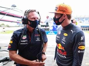 """""""Parece vitória"""", diz Horner sobre 2º lugar de Verstappen"""