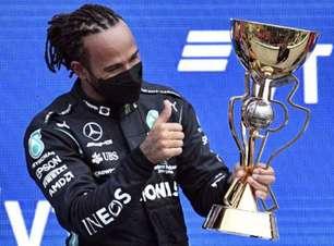 Hamilton conquista 100ª vitória no emocionante GP da Rússia