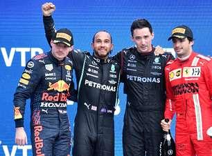Hamilton volta a liderar, mas fica só 2 pontos à frente de Verstappen. Confira classificação