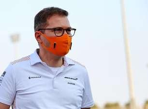 """""""Isso faz parte do esporte"""", diz chefe da McLaren sobre episódio de Norris no GP da Rússia de F1"""