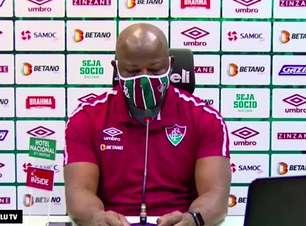 """FLUMINENSE: Marcão explica substituições contra o RB Bragantino, cita questão física e celebra após vitória: """"fizemos um grande jogo"""""""