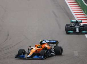 Análise da F1: erro de Norris foi desistir da luta na chuva