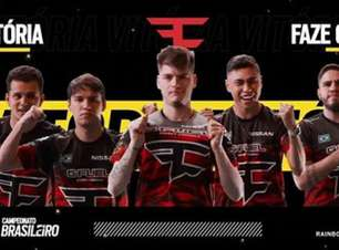FaZe Clan vence clássico e segue na liderança do Campeonato Brasileiro